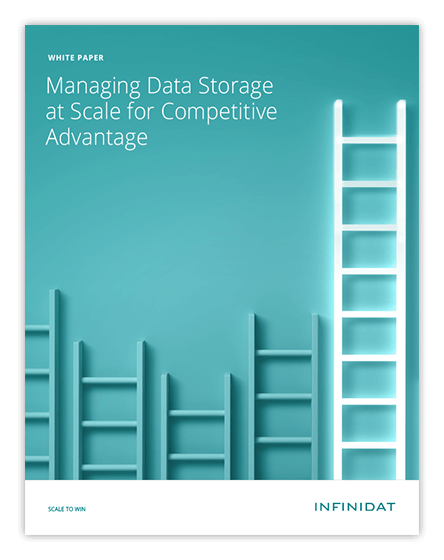 Managing Data Storage at Scale for Competitive Advantage