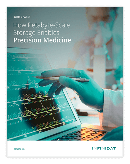 How Petabyte-Scale Storage Enables Precision Medicine