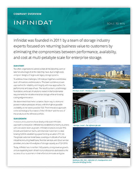 Infinidat Company Overview