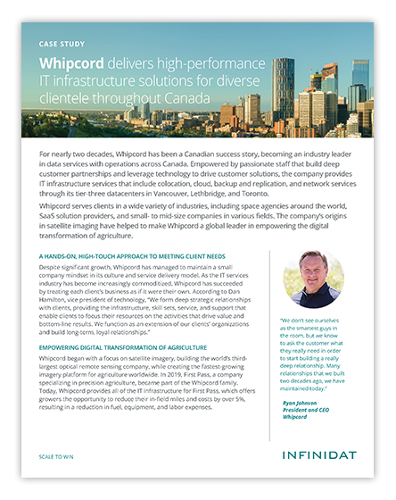 Whipcord Case Study