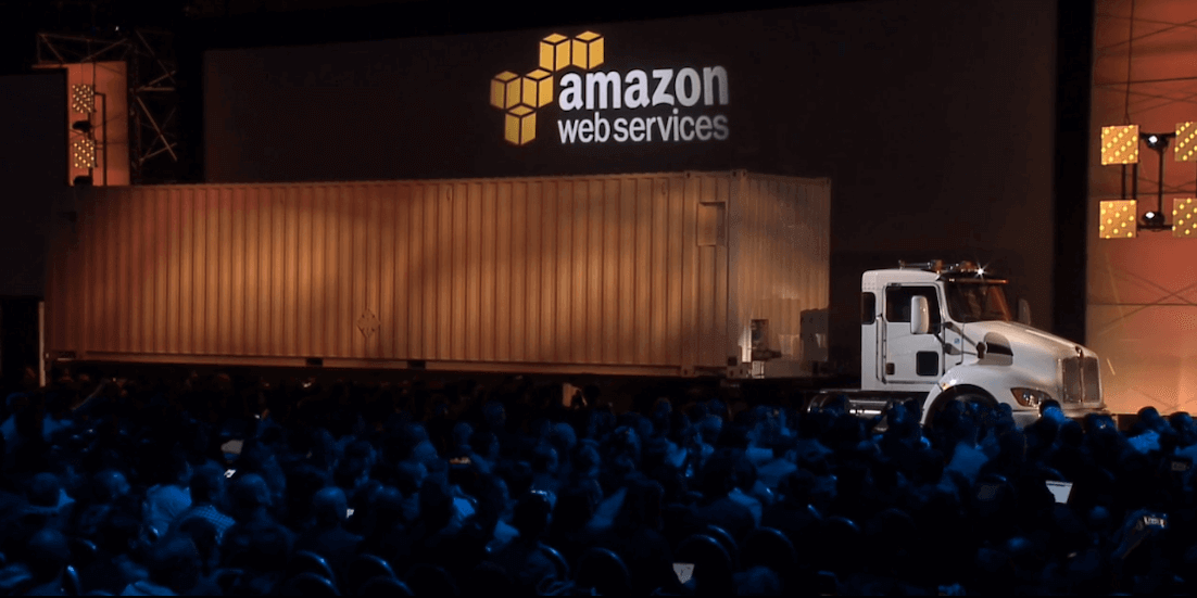 Amazon Snowmobile AWS