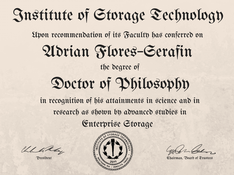 Doctor of Philosopy
