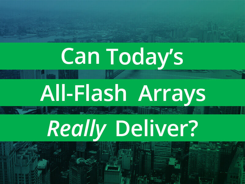 Pros and Cons of Flash Arrays
