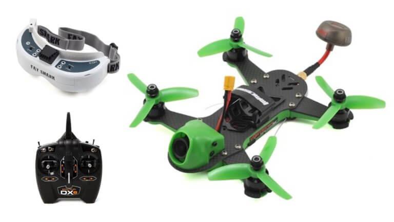 Racing Drone Kit at VMWOrld 2018