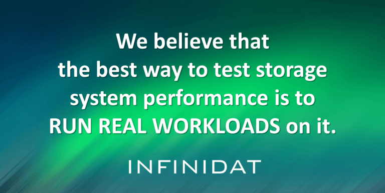 Test Storage System Performance