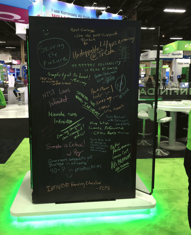 VMWorld Graffiti Board